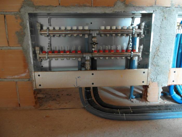 Sam 0697 artioli termoidraulica artioli termoidraulica - Collettori per riscaldamento a pavimento ...