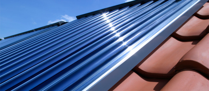 Pannello Solare Termico Vetro Rotto : Impianti solari termici pannelli artioli